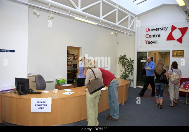 University Centre Yeovil Entrance Hallway