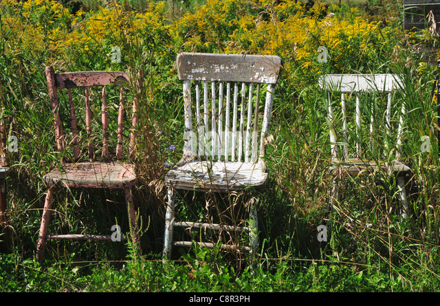 Antique garden furniture stock photos antique garden for Outdoor furniture quebec