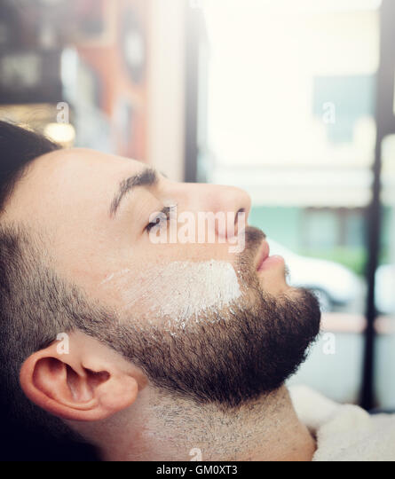 old style barber shop stock photos old style barber shop stock images alamy. Black Bedroom Furniture Sets. Home Design Ideas