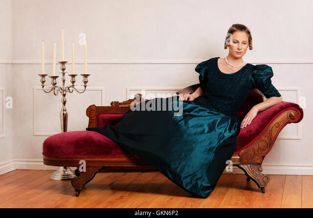Fainting stock photos fainting stock images alamy for Fainting couch