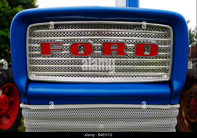 Ford Tractor Grill : Old ford tractor logo gallery