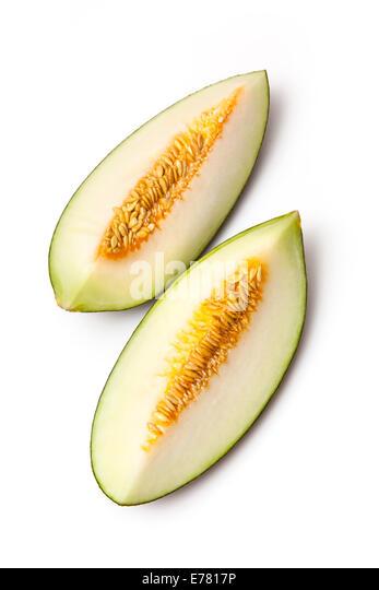 how to cut a santa claus melon