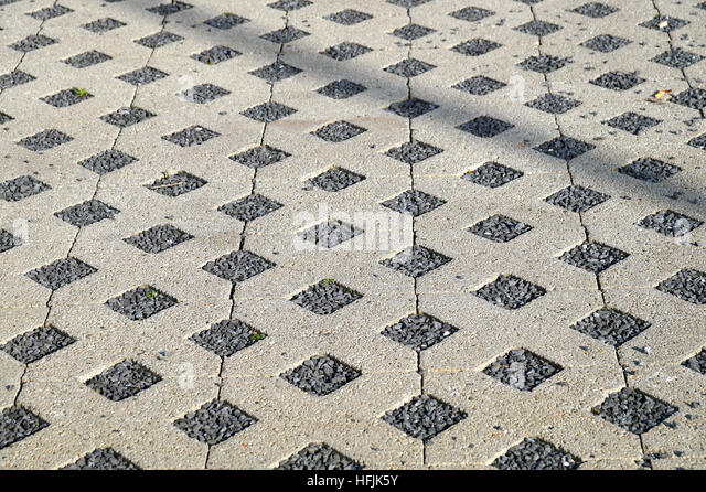 Type Of Flooring Substrate : Permeable concrete stock photos
