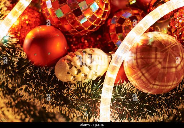 Silver ball wreath stock photos silver ball wreath stock for Christmas decoration 94