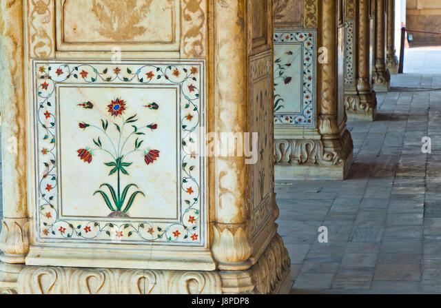 india marble decoration castle chateau blue travel temple
