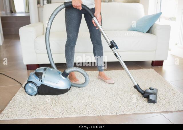 hoovering carpet stock photos hoovering carpet stock