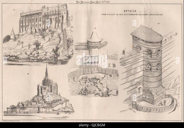 Viollet le duc stock photos viollet le duc stock images for Dictionnaire architecture