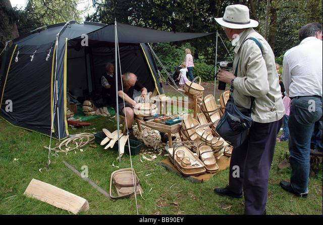 Traditional Basket Making : Basket making stock photos