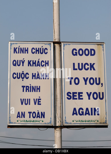 how to say good luck in vietnamese
