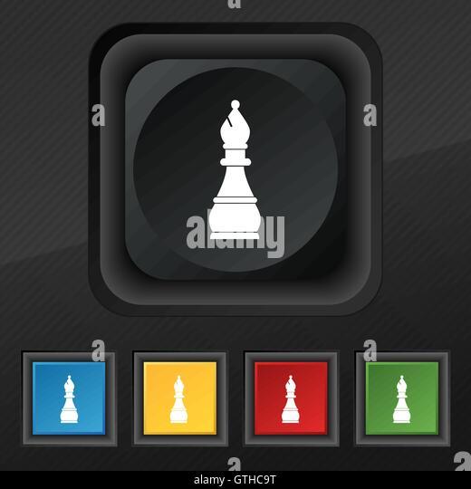 Chess Piece Black Bishop Stock Photos & Chess Piece Black ...