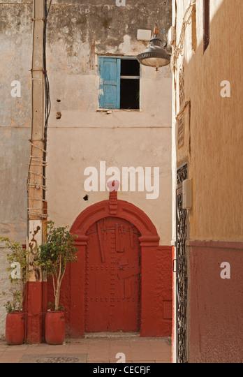 Old Door In The Old Town Of Rabat   Stock Image
