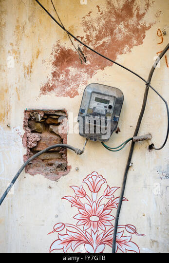 Telephone Wiring Rat Nest