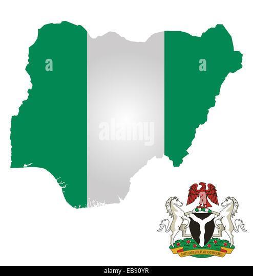 Nigeria Map Stock s & Nigeria Map Stock Alamy