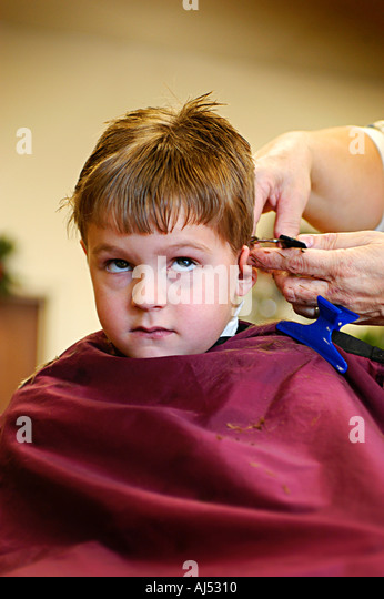 Boy Is Disgusted While Receiving Facial