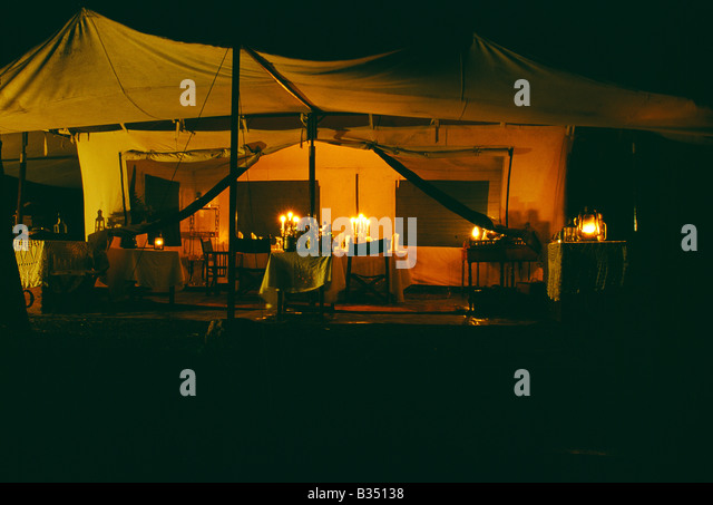 Table Laid Dinner Candles Stock Photos amp Table Laid Dinner  : kenya masai mara table laid for dinner in the main dining tent cottars b35138 from www.alamy.com size 640 x 453 jpeg 61kB
