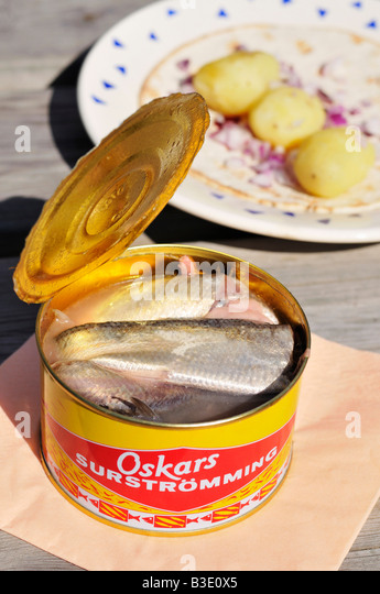 Fermented fish stock photos fermented fish stock images for Swedish fermented fish