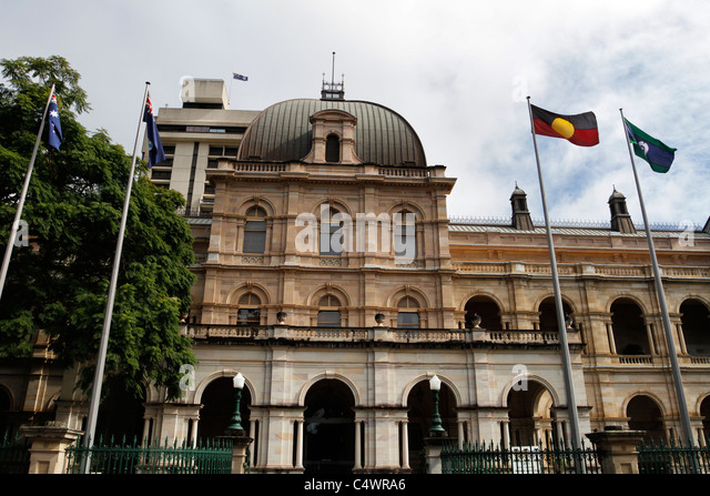 Queensland Parliament House In Brisbane Australia