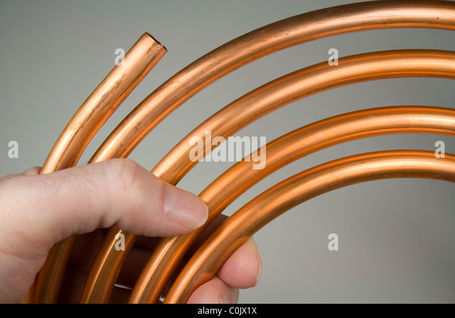 Copper Pipes Stock Photos Copper Pipes Stock Images Alamy