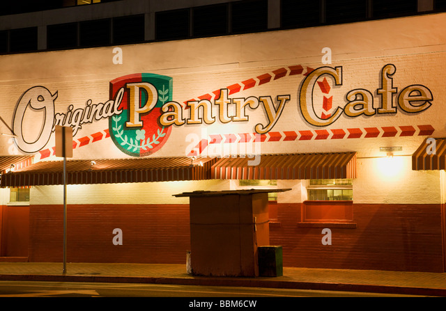 the original pantry cafe downtown los angeles california stock image