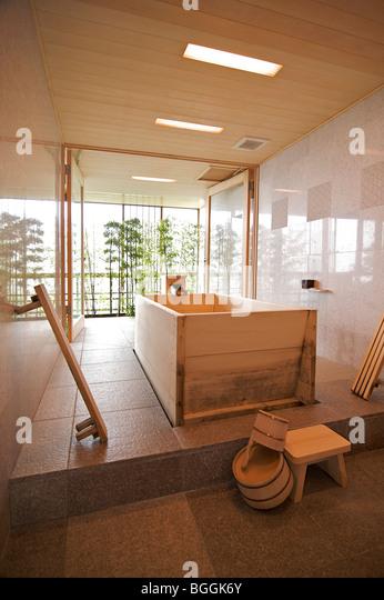 Ryokan bathroom stock photos ryokan bathroom stock - Ryokan tokyo with private bathroom ...