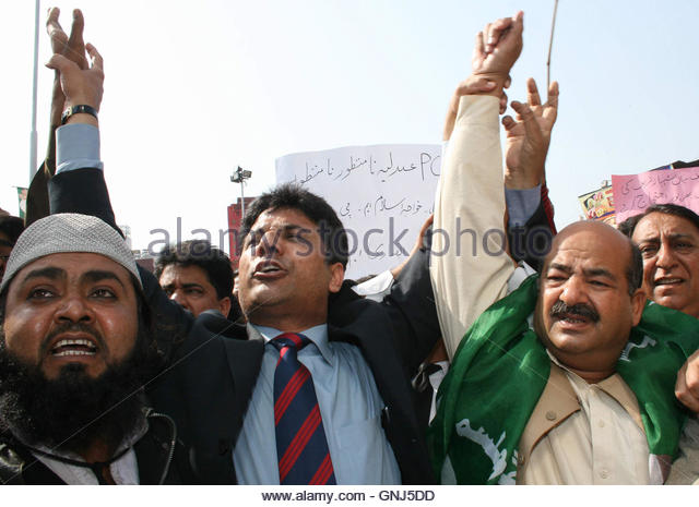 During Protest In Faisalabad Stock Photos & During Protest ...