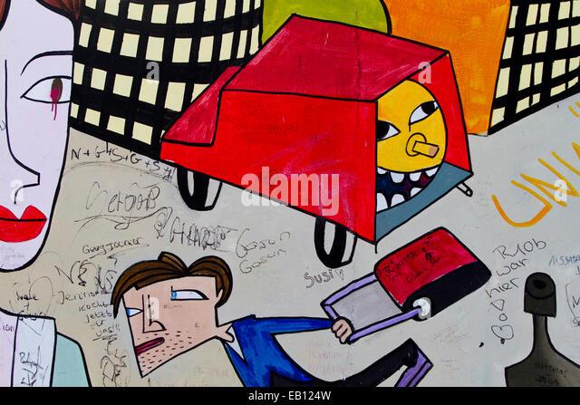 Cartoon Art Wall Stock Photos & Cartoon Art Wall Stock Images - Alamy