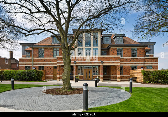 House Front Elevation Uk : Felsted stock photos images alamy