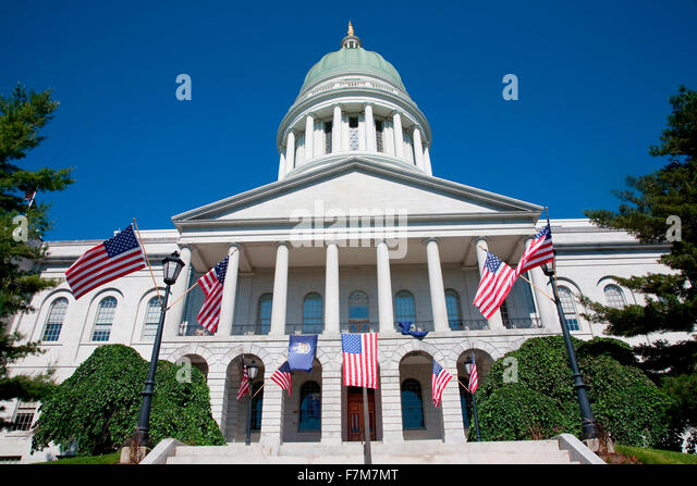 Maine state capitol building augusta maine the state capital
