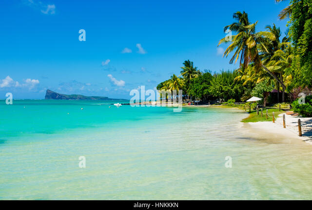 Tropical Island Beach Ambience Sound: Mauritius Scenery Stock Photos & Mauritius Scenery Stock