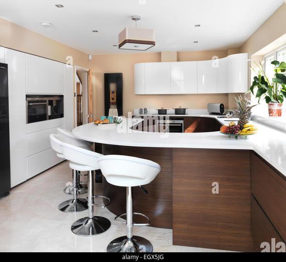 White Modern Extension Table Home Design 2017
