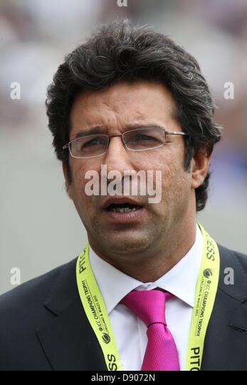<b>Wasim Akhtar</b> Ex Pakistan Captain during the ICC - london-uk-7th-june-2013-wasim-akhtar-ex-pakistan-captain-during-the-d9072n