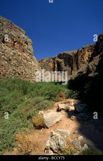 Zakros Gorge Stock Photos & Zakros Gorge Stock Images - Alamy
