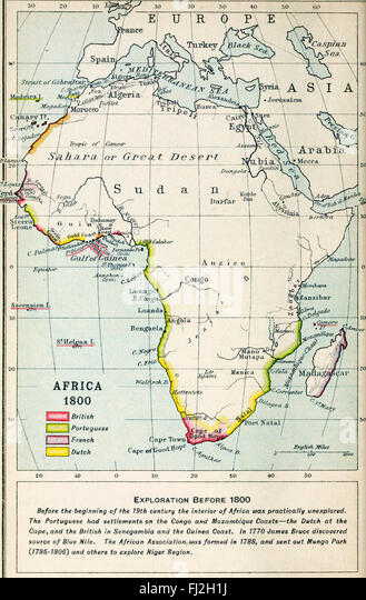 Map Africa 1800 Stock Photos Map Africa 1800 Stock Images Alamy