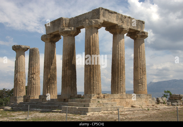 Archaeological Museum Of Ancient Corinth Stock Photos ...