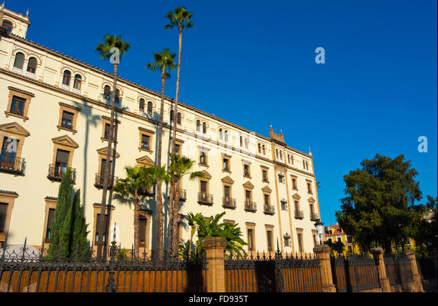 Alfonso xiii hotel seville stock photos alfonso xiii - Hotel alfonso xii sevilla ...