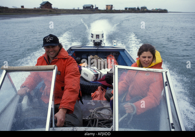 Biologists fish stock photos biologists fish stock for Alaska fish counts