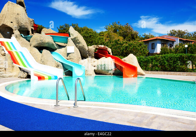 water slides stock photos water slides stock images alamy. Black Bedroom Furniture Sets. Home Design Ideas
