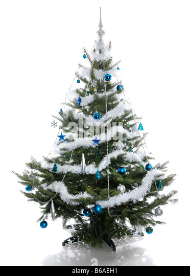 real christmas tree decorated stock photos real real decorated christmas trees