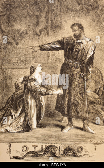 the virtue of desdemona in william shakespeares play the tragedy of othello In william shakespeare's tragic play othello we see a very exceptional woman in the person of desdemona, wife of the general she, as cassio says, is a paragon of virtues, unlike the other female characters in the drama h s wilson in his book of literary criticism, on the design of.