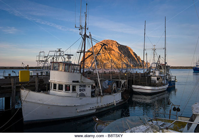 Morro bay california stock photos morro bay california for Morro bay fishing