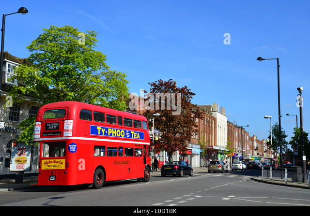 High Street Ruislip London Borough of Hillingdon Greater London England  United  Europe Uk England London. Bathstore Ruislip