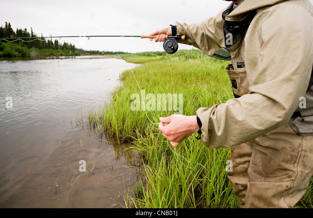 Hip wader stock photos hip wader stock images alamy for Fly fishing bay area
