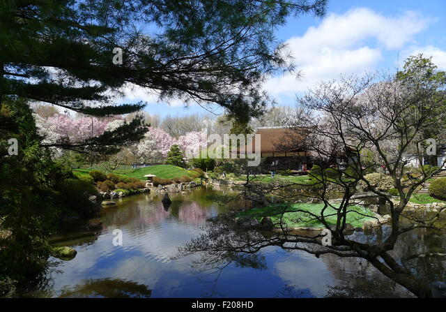 Shofuso   Japanese House And Garden, Philadelphia   Stock Image