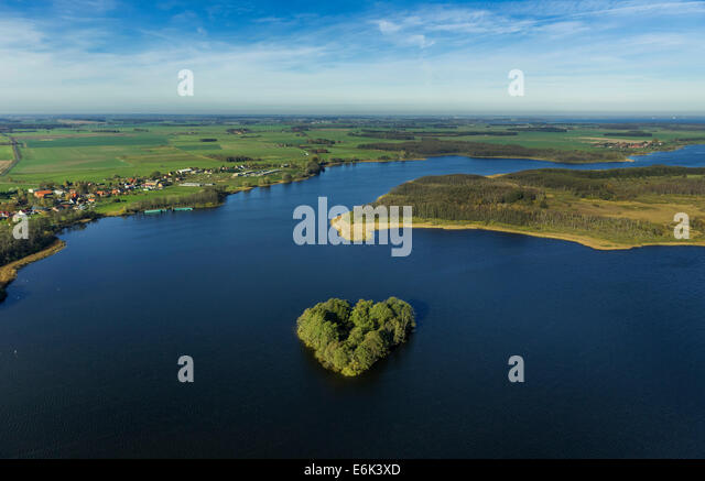 Rechlin stock photos rechlin stock images alamy for L shaped lake