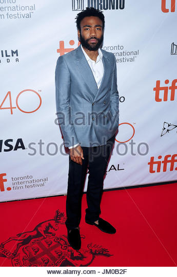 Donald Glover. 'The Martian' Premiere at the 2015 Toronto International Film Festival held at  Roy Thomson - Stock Image