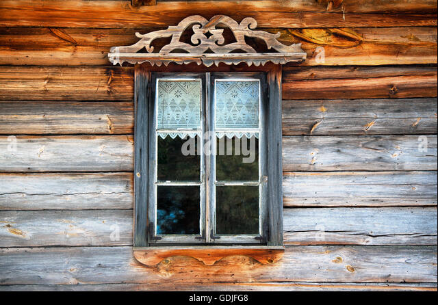 Wooden Window Frame Stock Photos & Wooden Window Frame Stock ...