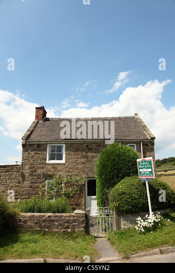 A Cottage For Sale And Advertised As Having Holiday Home Potential In Derbyshire England