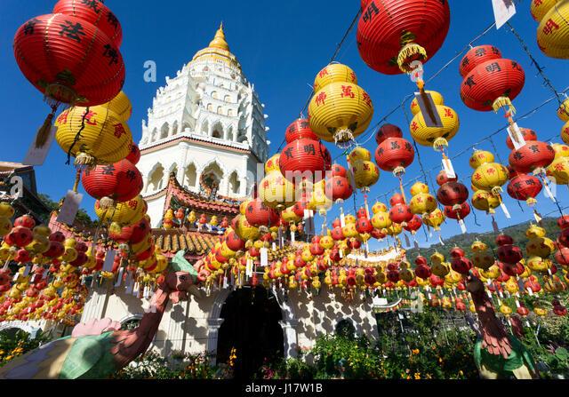 Buddhist New Year Kek Lok Si Temple Pena...