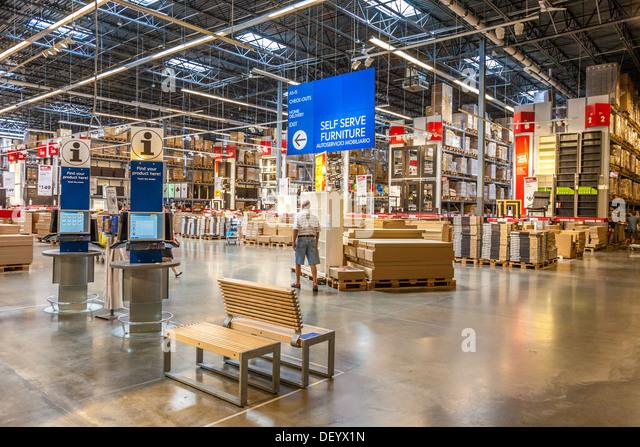 Ikea inside store gallery for Ikea hours denver