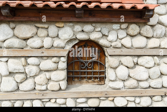 Stone And Wood Wall Coverings : Wooden wall panels stock photos